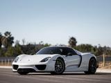 """Images of Porsche 918 Spyder """"Weissach Package"""" US-spec 2014–15"""