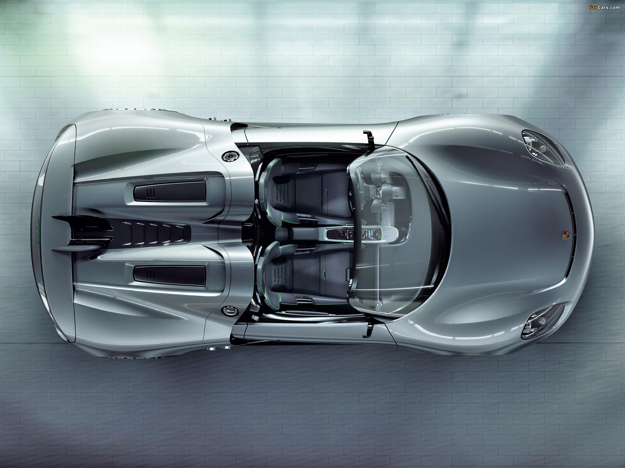 Photos of Porsche 918 Spyder Concept 2010 (2048 x 1536)