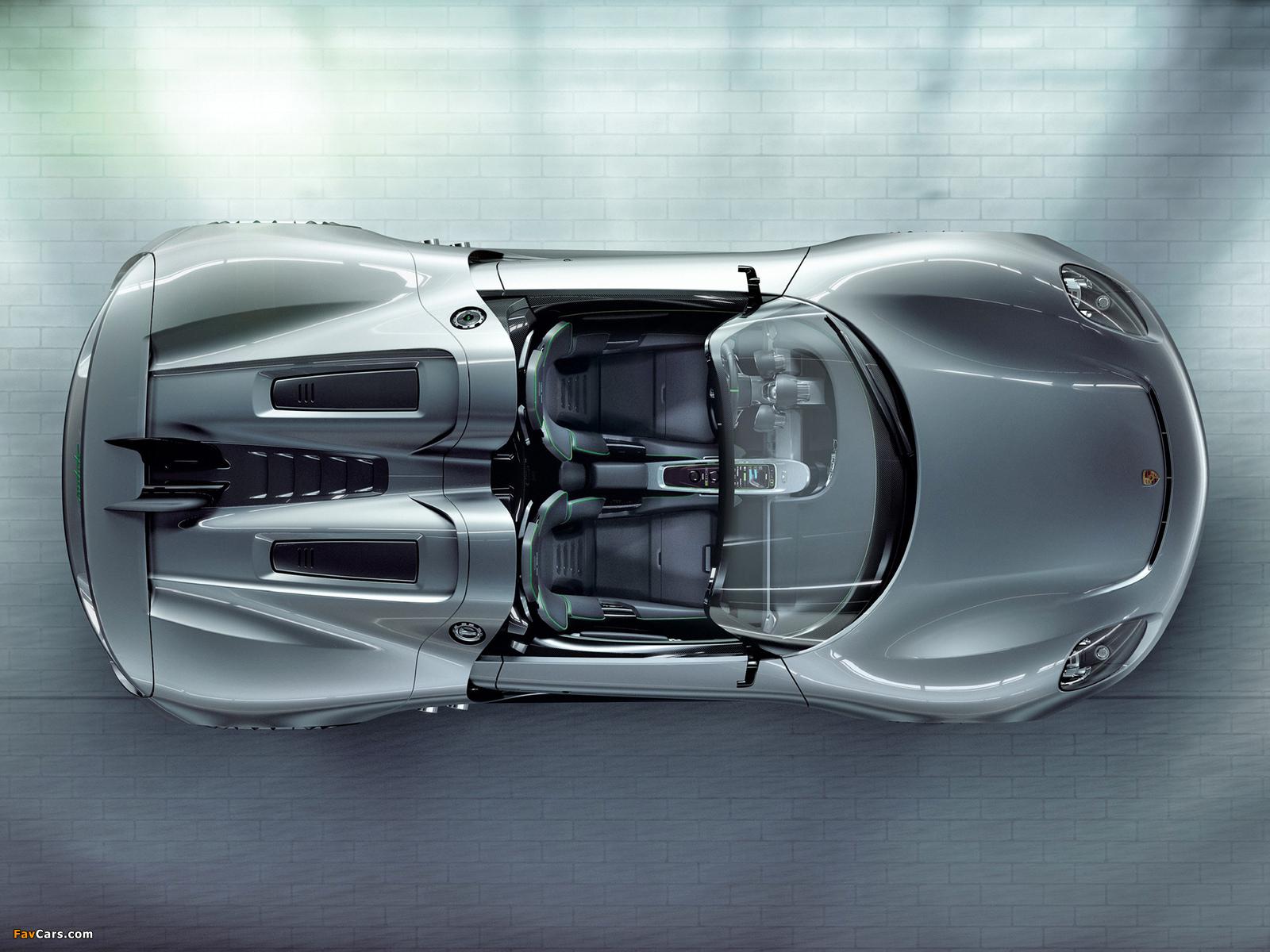Photos of Porsche 918 Spyder Concept 2010 (1600 x 1200)