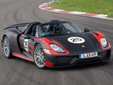 Photos of Porsche 918 Spyder Prototype 2013