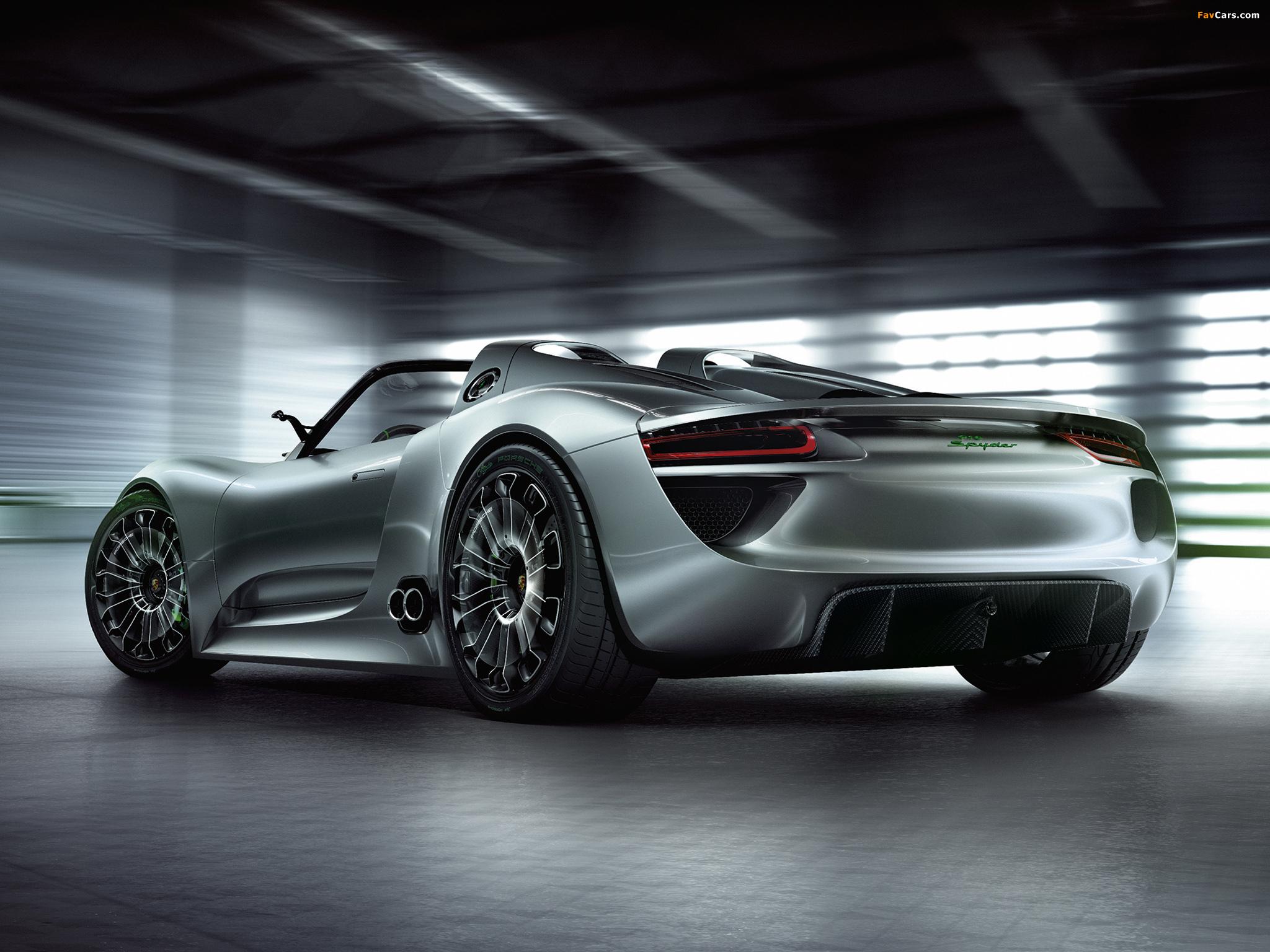Pictures of Porsche 918 Spyder Concept 2010 (2048 x 1536)