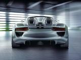Pictures of Porsche 918 Spyder Concept 2010