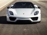 """Pictures of Porsche 918 Spyder """"Weissach Package"""" US-spec 2014–15"""