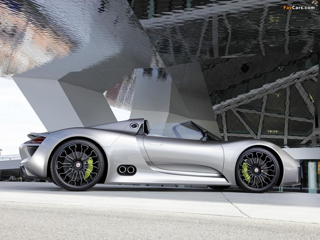 Porsche 918 Spyder Concept 2010 photos (1024 x 768)