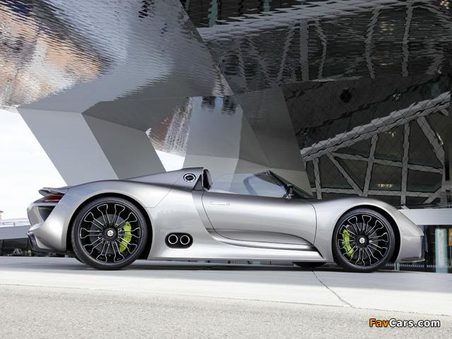 Porsche 918 Spyder Concept 2010 photos (640 x 480)