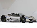 Porsche 918 Spyder Concept 2010 pictures