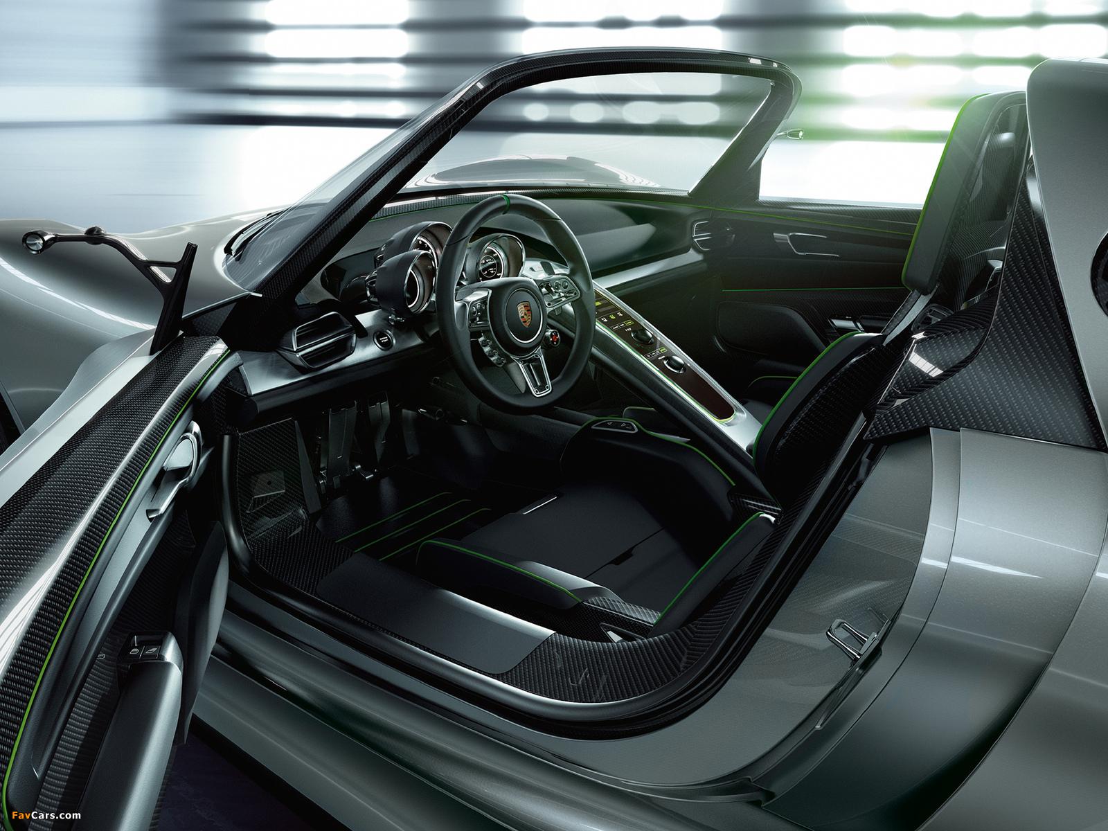 Porsche 918 Spyder Concept 2010 pictures (1600 x 1200)