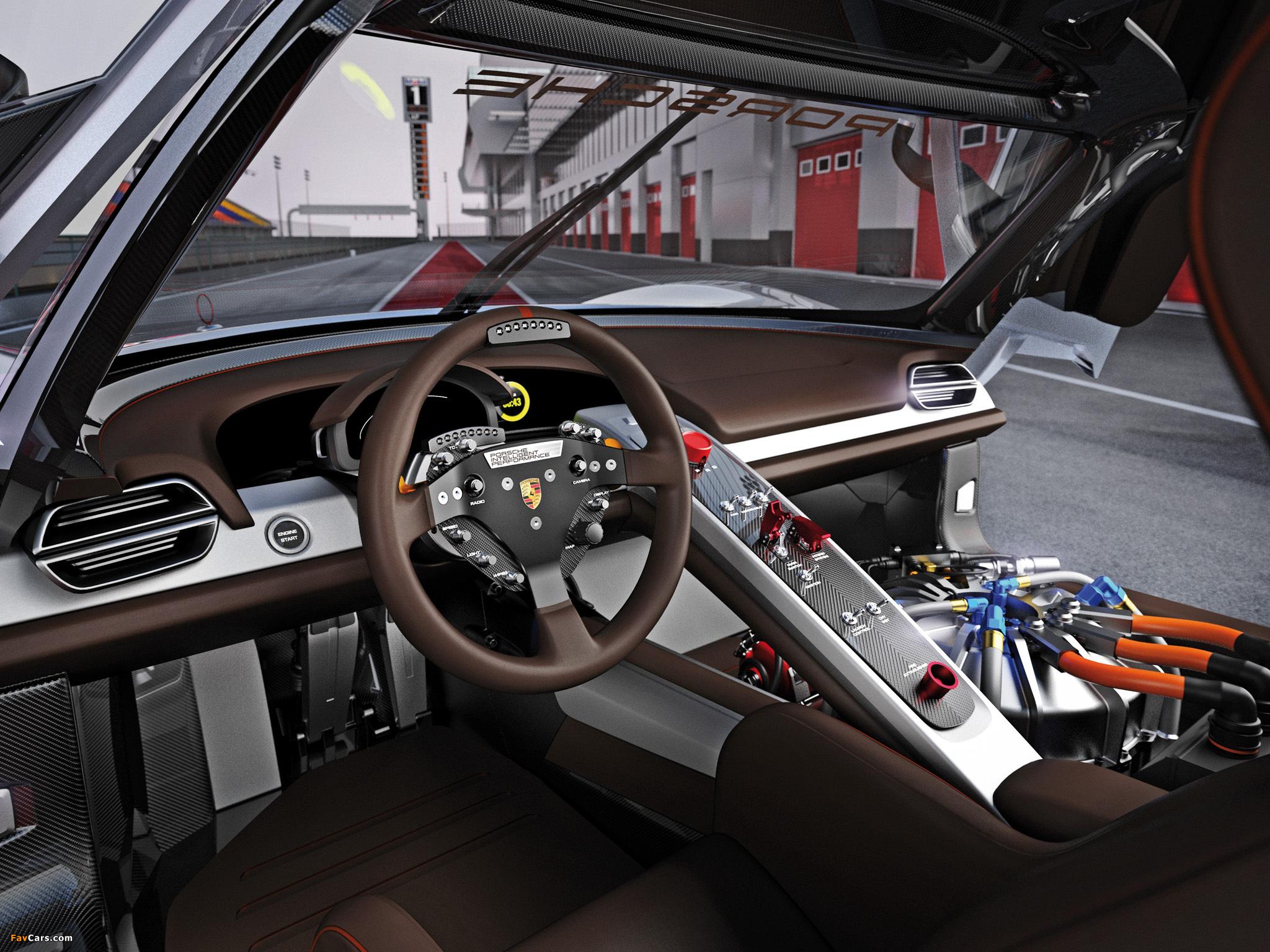 Porsche 918 RSR Concept 2011 photos (2048 x 1536)