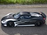 Porsche 918 Spyder Prototype 2012 images