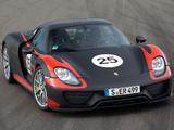 Porsche 918 Spyder Prototype 2013 images
