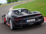 Porsche 918 Spyder Prototype 2013 photos