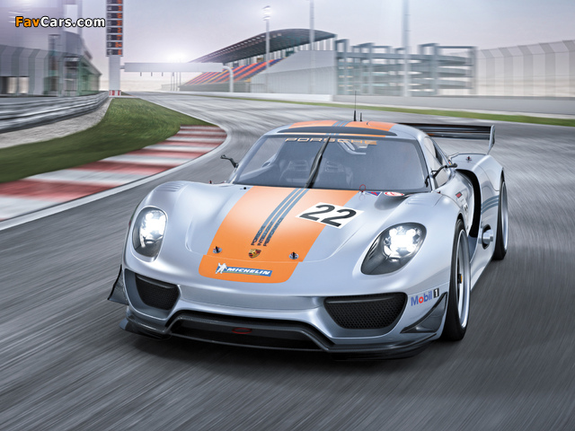 Porsche 918 RSR Concept 2011 wallpapers (640 x 480)