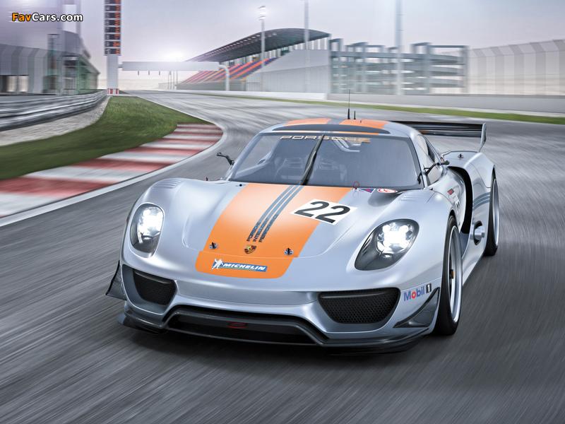 Porsche 918 RSR Concept 2011 wallpapers (800 x 600)