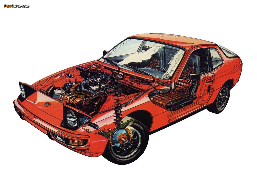 Images of Porsche 924 Coupe 1976–85 (1024 x 768)