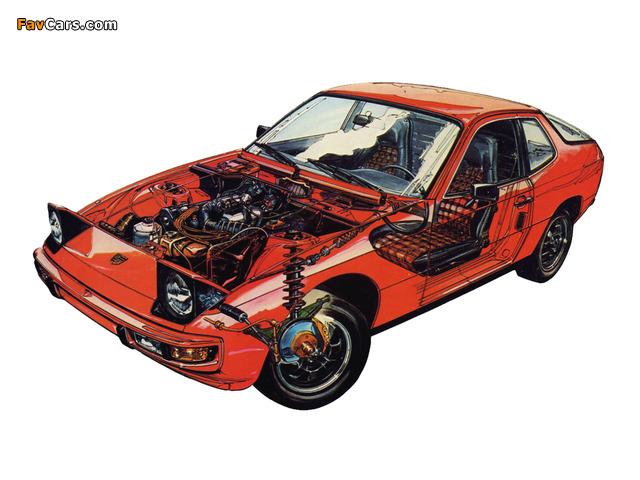 Images of Porsche 924 Coupe 1976–85 (640 x 480)