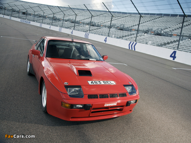 Porsche 924 Carrera GTS (937) 1981 pictures (640 x 480)