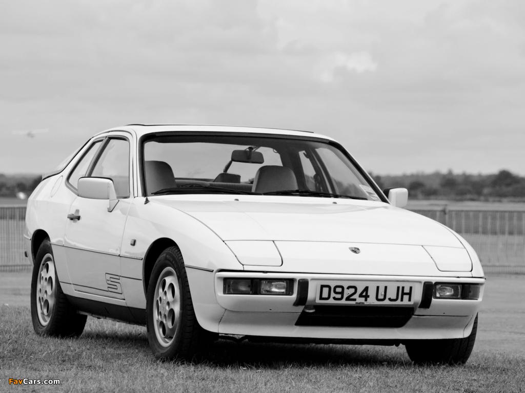 Porsche 924 S Coupe UK-spec 1986–88 pictures (1024 x 768)