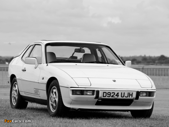 Porsche 924 S Coupe UK-spec 1986–88 pictures (640 x 480)