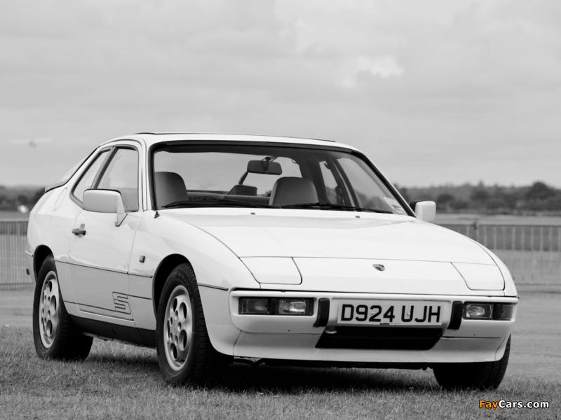 Porsche 924 S Coupe UK-spec 1986–88 pictures (800 x 600)