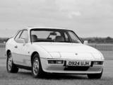 Porsche 924 S Coupe UK-spec 1986–88 pictures