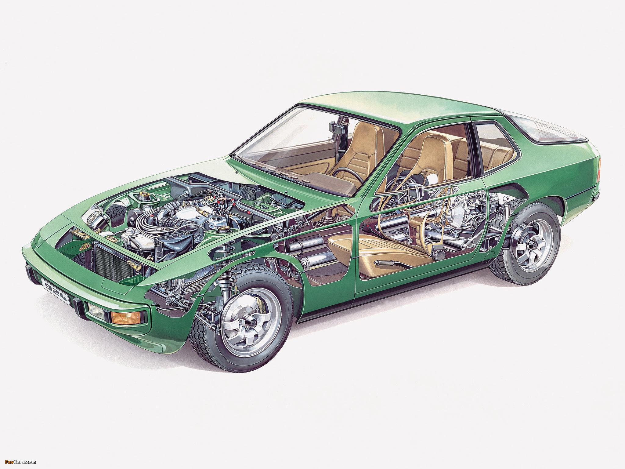 Porsche 924 Coupe 1976–85 wallpapers (2048 x 1536)