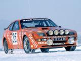 Porsche 924 Carrera GTS-Rallye 1981 wallpapers