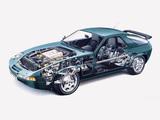 Photos of Porsche 928 GT 1989–91