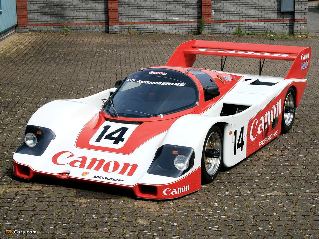 Images of Porsche 956 C Coupe 1984 (1024 x 768)