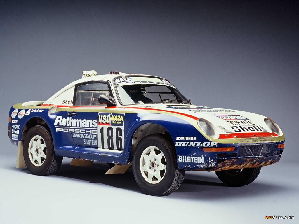Images of Porsche 959 Paris Dakar 1985 (1024 x 768)