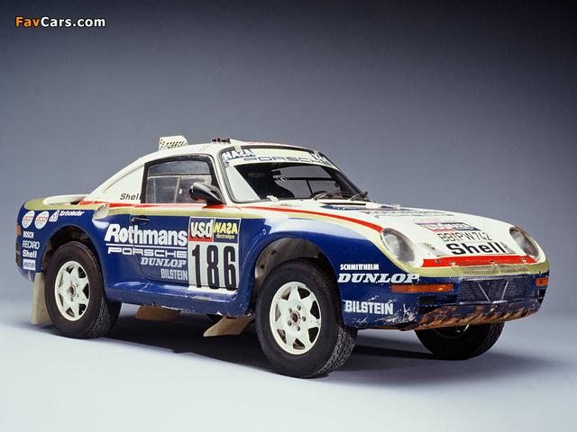 Images of Porsche 959 Paris Dakar 1985 (640 x 480)