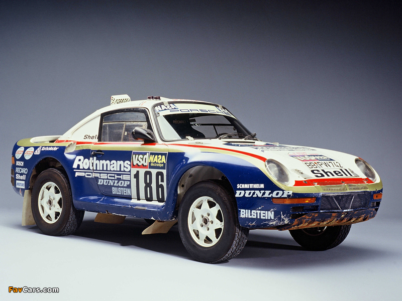 Images of Porsche 959 Paris Dakar 1985 (800 x 600)