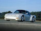 Photos of Porsche 959 Gruppe B Prototype 1983