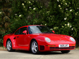 Photos of Porsche 959 1987–88