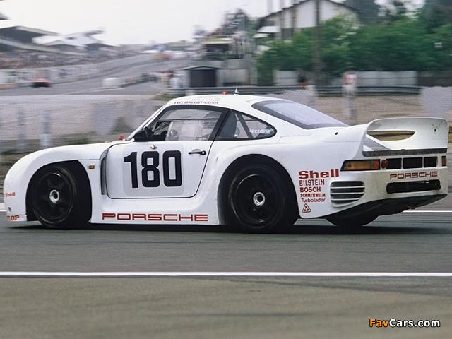 Porsche 961 1986 images (640 x 480)