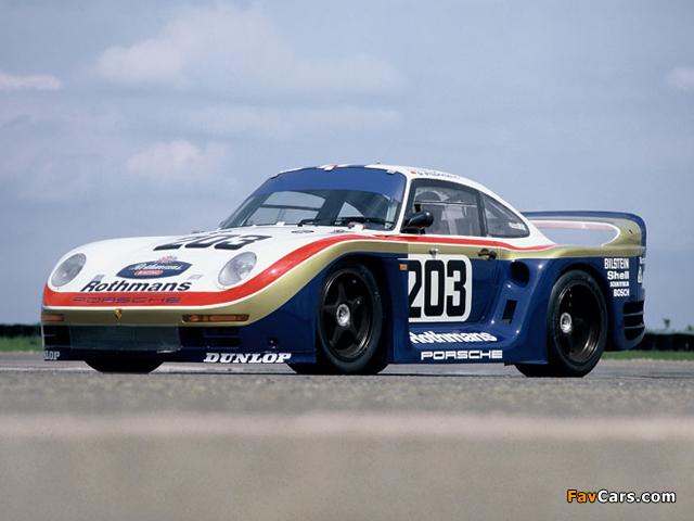 Porsche 961 Le Mans 1987 photos (640 x 480)
