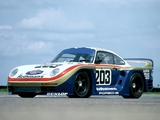 Porsche 961 Le Mans 1987 photos