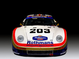 Porsche 961 Le Mans 1987 wallpapers