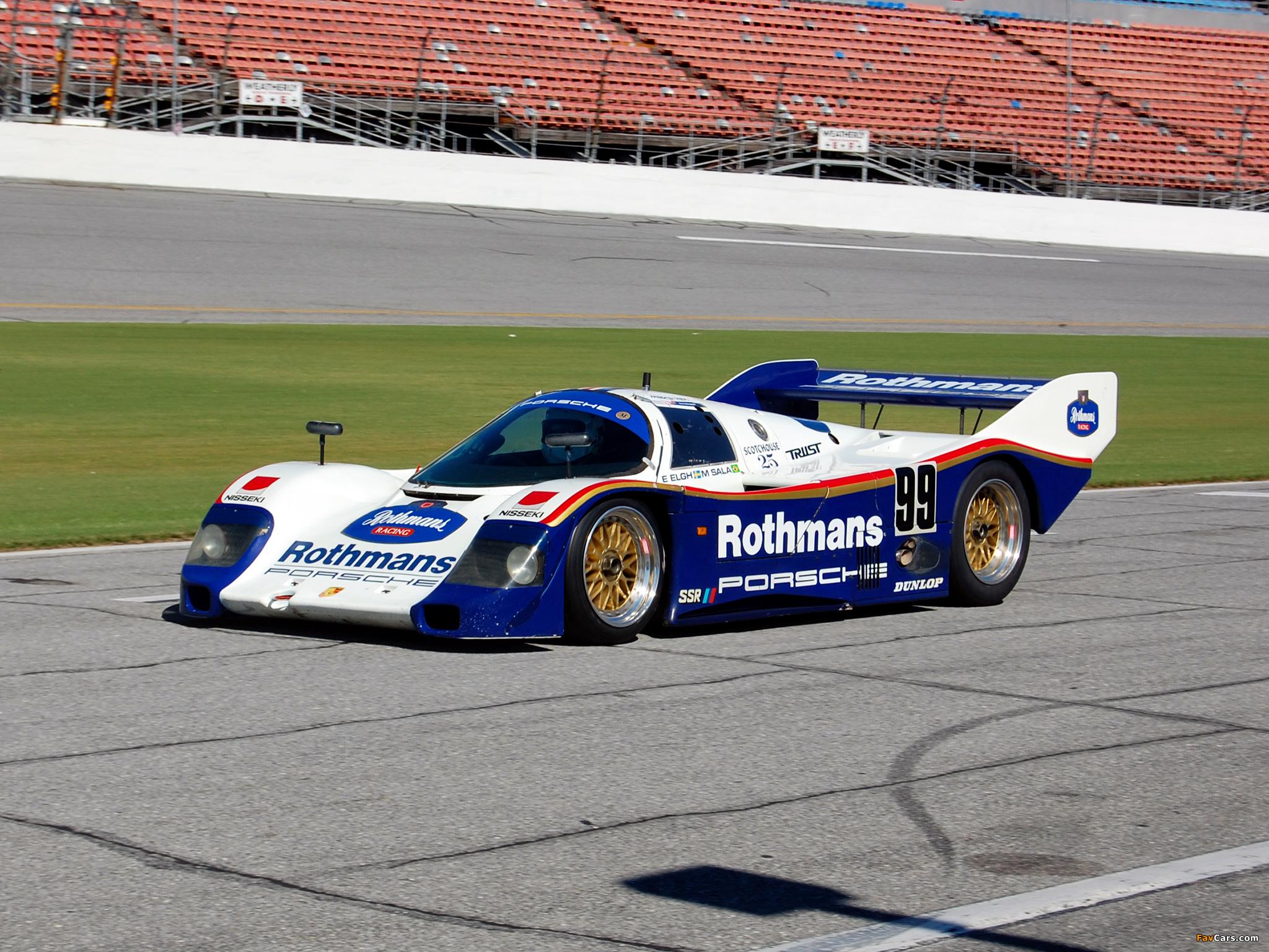 Porsche 962 1984–91 images (2048 x 1536)