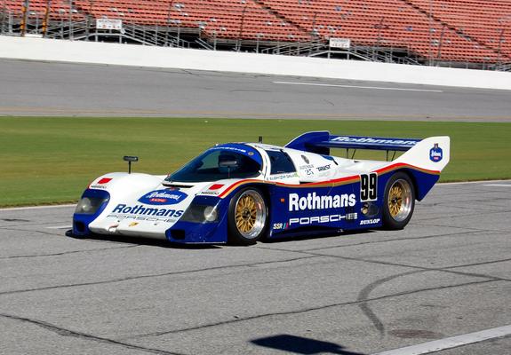 Porsche 962 198491 Images
