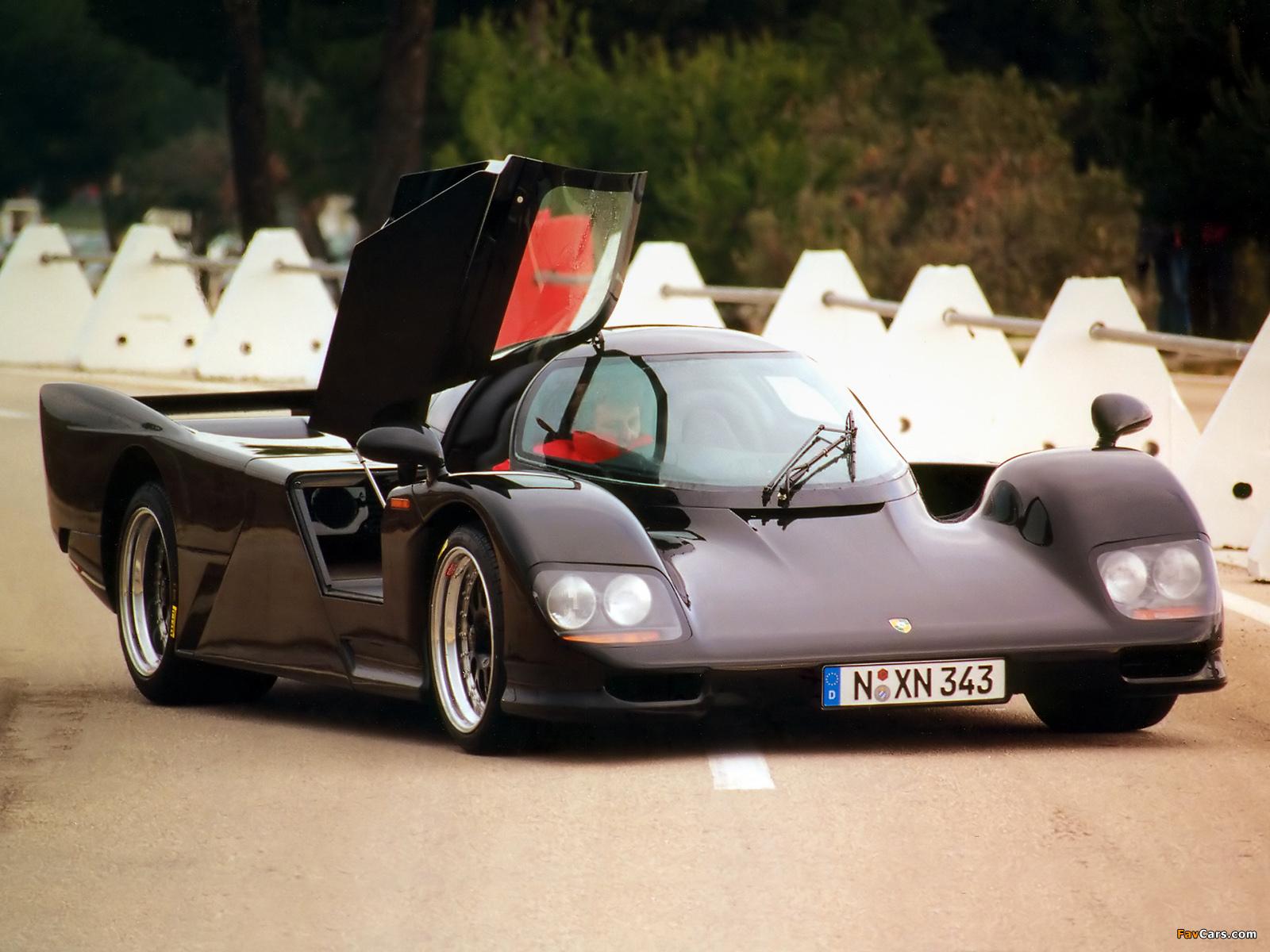 Porsche Dauer 962 Lm Road Car 199496 Wallpapers 1600x1200