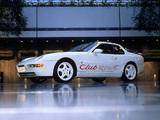 Photos of Porsche 968 Club Sport UK-spec 1993–95