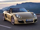 Images of Porsche Boxster S (981) 2012