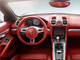 Pictures of Porsche Boxster S (981) 2012