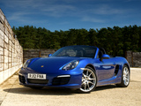Pictures of Porsche Boxster UK-spec (981) 2012
