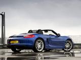 Porsche Boxster UK-spec (981) 2012 images