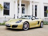 Porsche Boxster S UK-spec (981) 2012 photos
