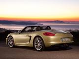 Porsche Boxster S (981) 2012 photos