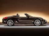 Porsche Boxster UK-spec (981) 2012 wallpapers