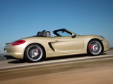 Porsche Boxster S (981) 2012 wallpapers