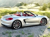 Porsche Boxster S (981) 2012 wallpapers